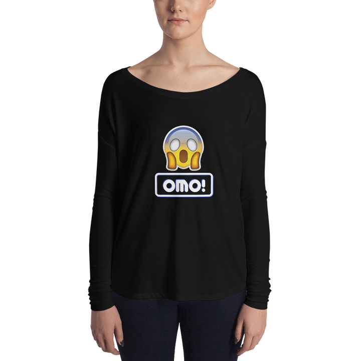 Omo! Women Long Sleeve Tee