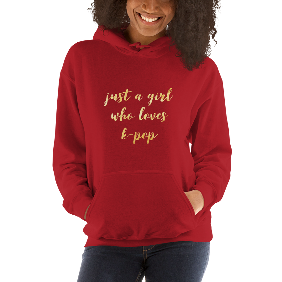 Just A Girl Who Loves K-Pop Unisex Hoodie