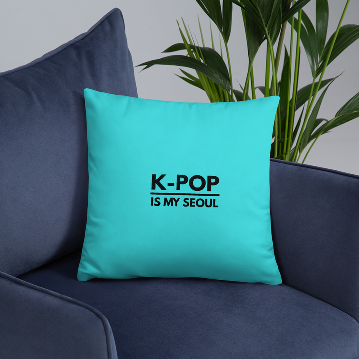 K-Pop is My Seoul Throw Pillow