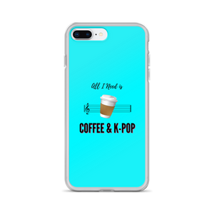 All I Need is Coffee & K-Pop iPhone Case