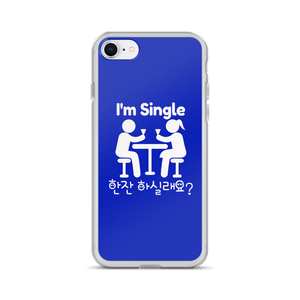 I am Single. 한잔 하실래요 Can I Offer You a Drink iPhone Case