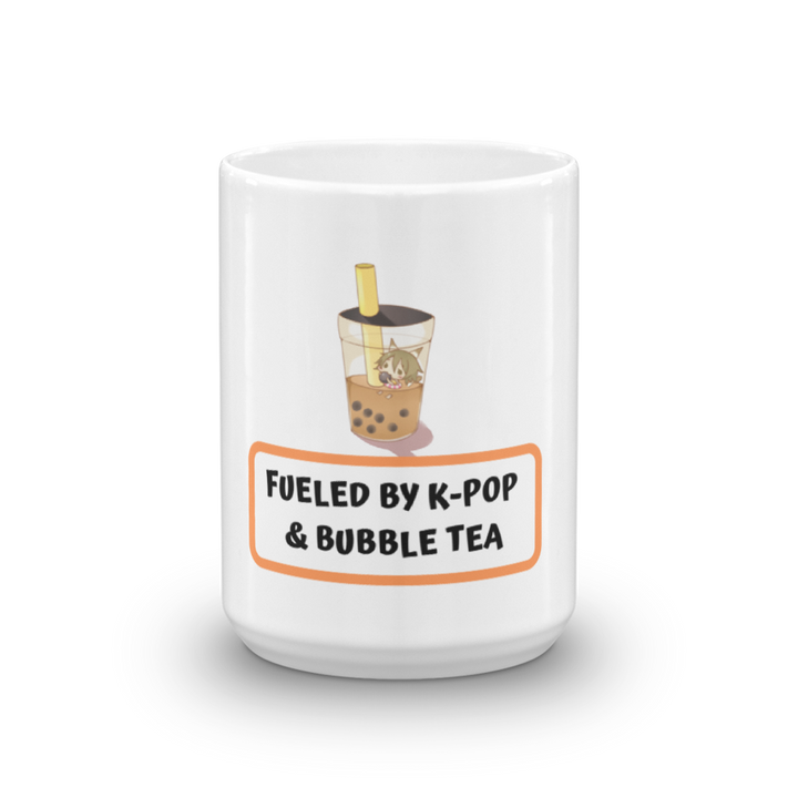 Fueled By K-Pop & Bubble Tea Tea & Coffee Mug