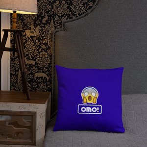 Omo! Throw Pillow
