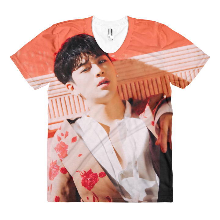 iKON Yunhyeong Scene In Killing Me Women Full Print T-Shirt