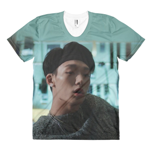 iKON Bobby Scene In Love Scenario Women Full Print T-Shirt