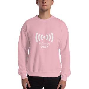 K-Pop Vibes Only Crewneck Sweatshirt