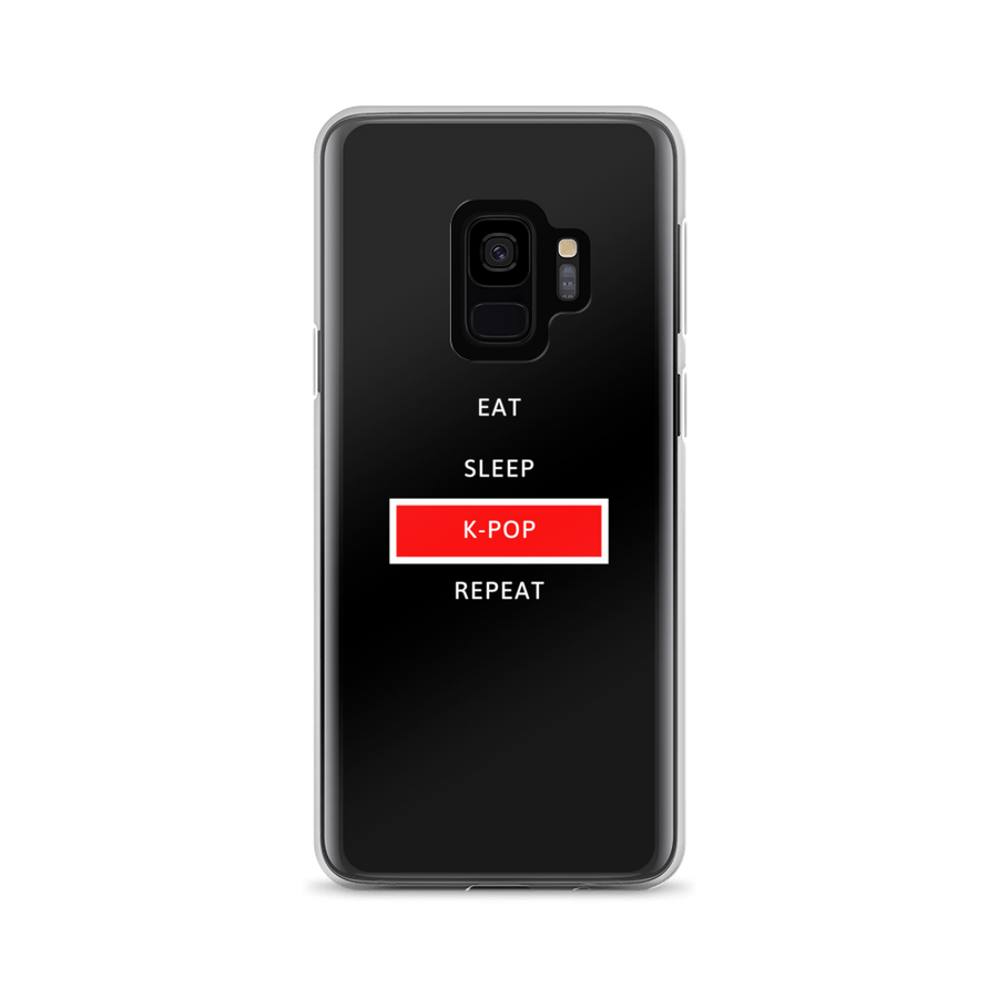 Eat Sleep K-Pop Repeat Samsung Galaxy Case