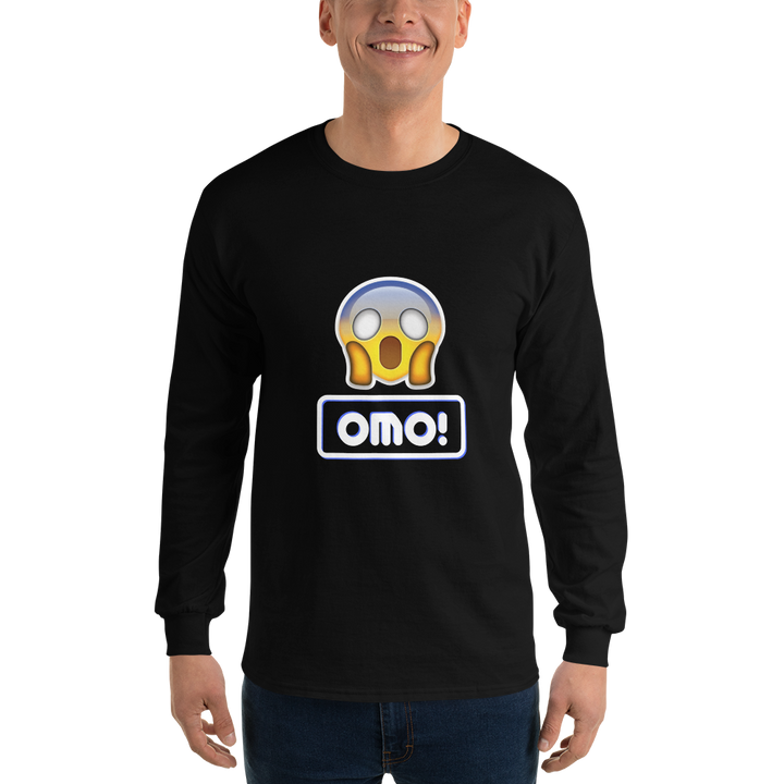 Omo! Men Long Sleeve Tee