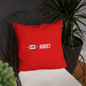 K-Pop Addict Throw Pillow
