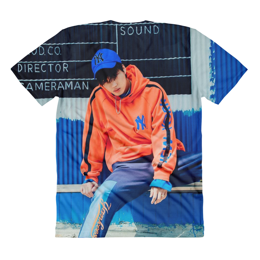EXO Kai Hip-hop Dope Style Outfit Women Full Print T-Shirt