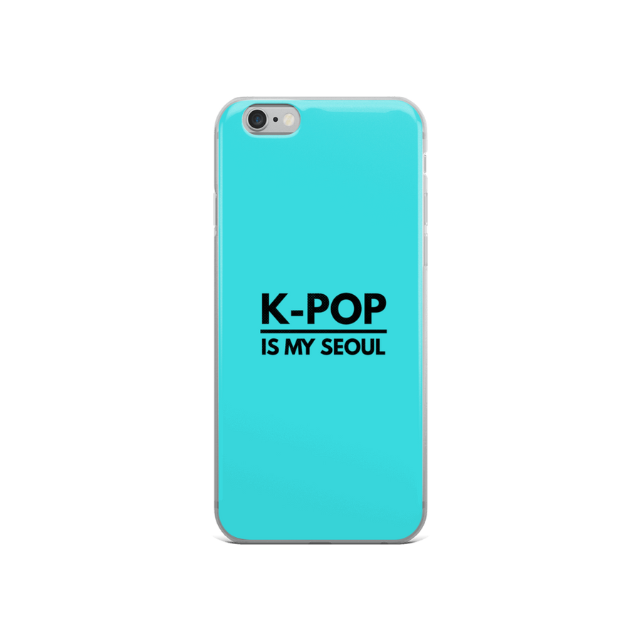 K-Pop is My Seoul iPhone Case