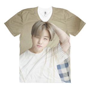 iKON Jinhwan Wink Handsome Guy Women Full Print T-Shirt