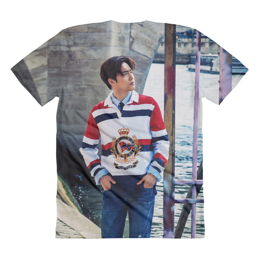 EXO Suho Side View Handsome Pose Women Full Print T-Shirt