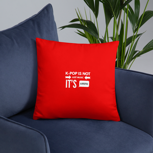K-Pop is Not Just Music It's a Lifestyle Throw Pillow
