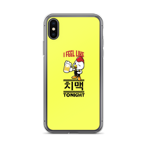 I Feel Like 치맥 Chimaek Tonight iPhone Case