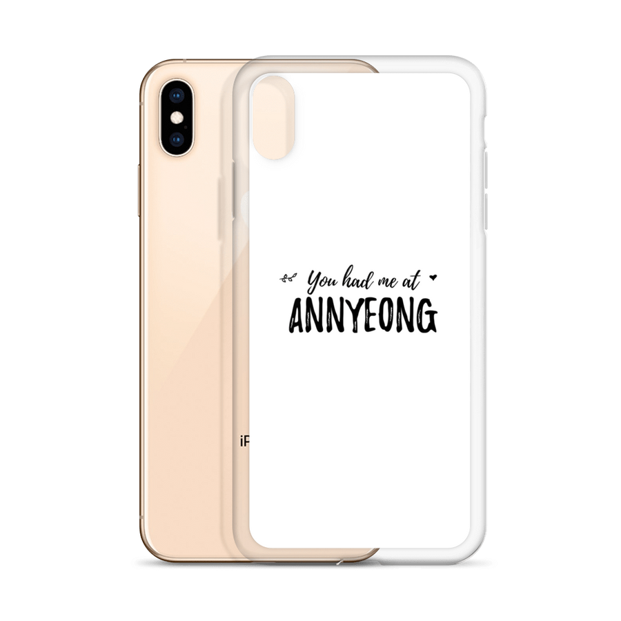 You Had Me At Annyeong iPhone Case