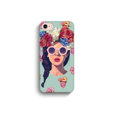 Floral Hair | Covervilla.com - Mobile covers & cases