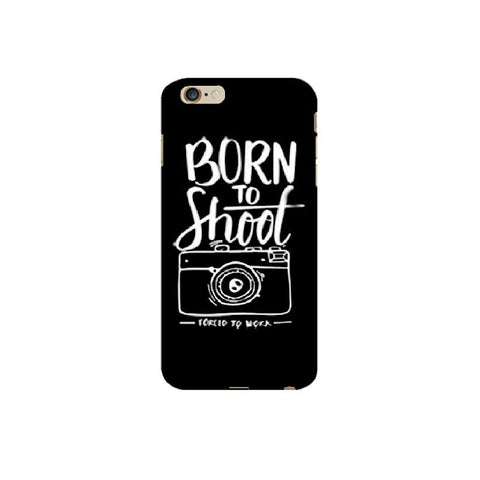 Born to shoot | Covervilla.com - Mobile covers & cases