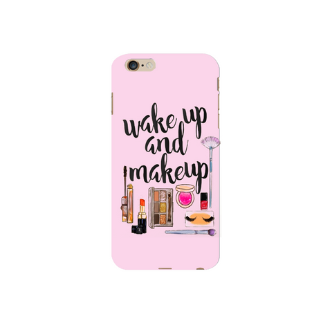 Wake up & Make up | Covervilla.com - Mobile covers & cases