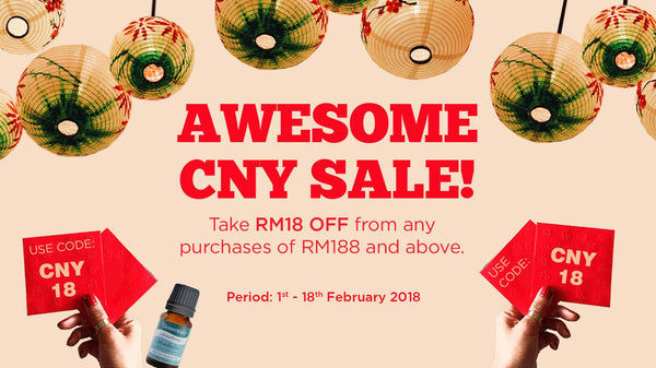 Awesome CNY Sale