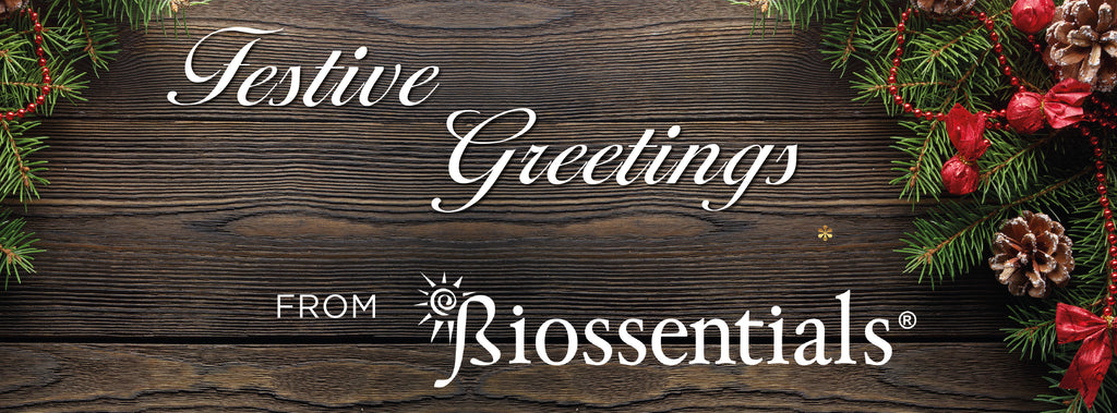 Festive Greetings from Biossentials