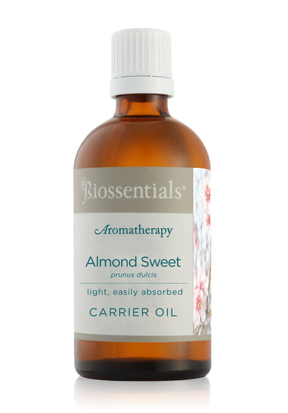 <strong>Biossentials Carrier Oil </strong><br/><strong>ALMOND SWEET COLD PRESSED</strong><br/><em>Prunis Dulcis</em>