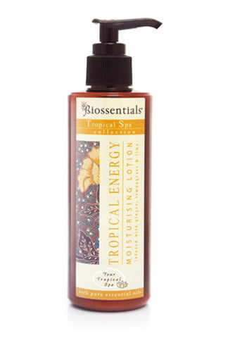 <strong>Biossentials Body Care</strong><br/><strong>TROPICAL ENERGY </strong><br/><strong>MOISTURISING LOTION </strong>
