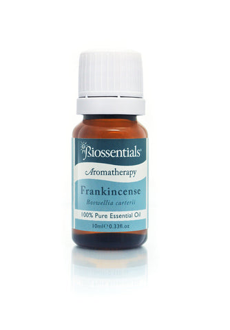 <strong>Biossentials 100% Pure Essential Oil </strong> <br/> <strong>FRANKINCENSE OLIBANUM</strong> <br/> <em>Boswellia carterii</em>