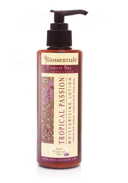 <strong>Biossentials Body Care</strong><br/><strong>TROPICAL PASSION </strong><br/><strong>MOISTURISING LOTION </strong>