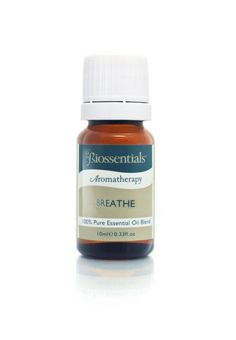 <strong>Biossentials Essential Oil Blend </strong><br/><strong>BREATHE</strong><br/>    Eucalyptus, Myrtle, Tea Tree