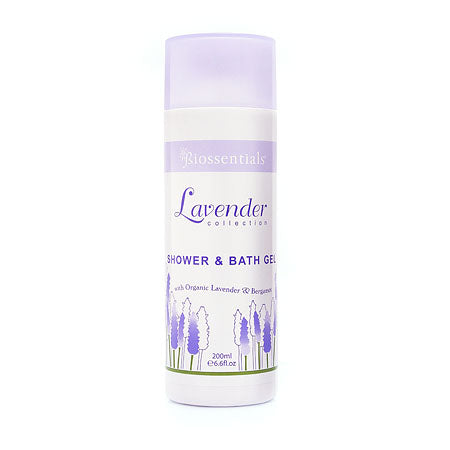<strong>Lavender Shower & Bath Gel</strong><br/><strong>