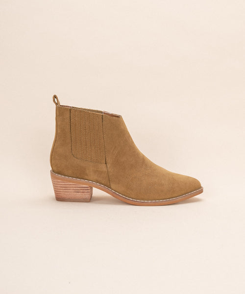 Francis •  Panelled Chelsea Bootie