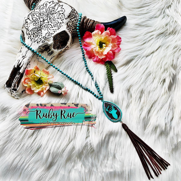 Turquoise Hunting Babe - Ruby Rue Jewelry & Accessories