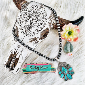 Turquoise Pendant - Ruby Rue Jewelry & Accessories