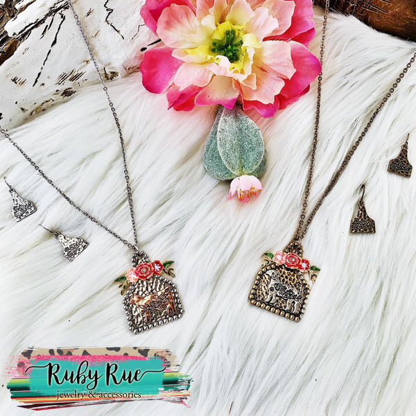 Farm Animal Necklace Set - Ruby Rue Jewelry & Accessories