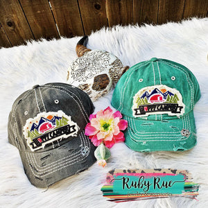 Happy Camper Hats - Ruby Rue Jewelry & Accessories