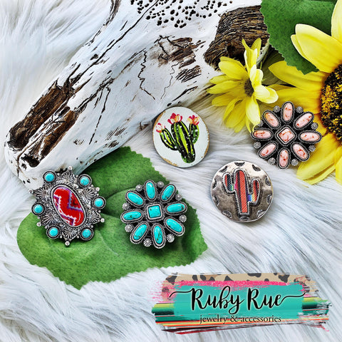 Western Phone Grippie - Ruby Rue Jewelry & Accessories