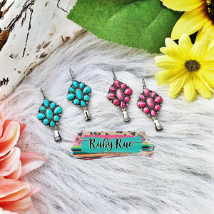 Colorful Squash Earrings - Ruby Rue Jewelry & Accessories