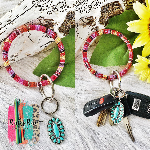 Western Key Rings - Ruby Rue Jewelry & Accessories