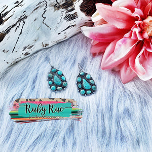Amelia Turquoise Earrings - Ruby Rue Jewelry & Accessories