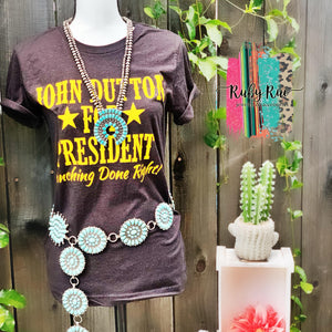 Yellowstone Western Tee - Ruby Rue Jewelry & Accessories