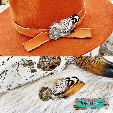 Handmade Hat Pins - Ruby Rue Jewelry & Accessories