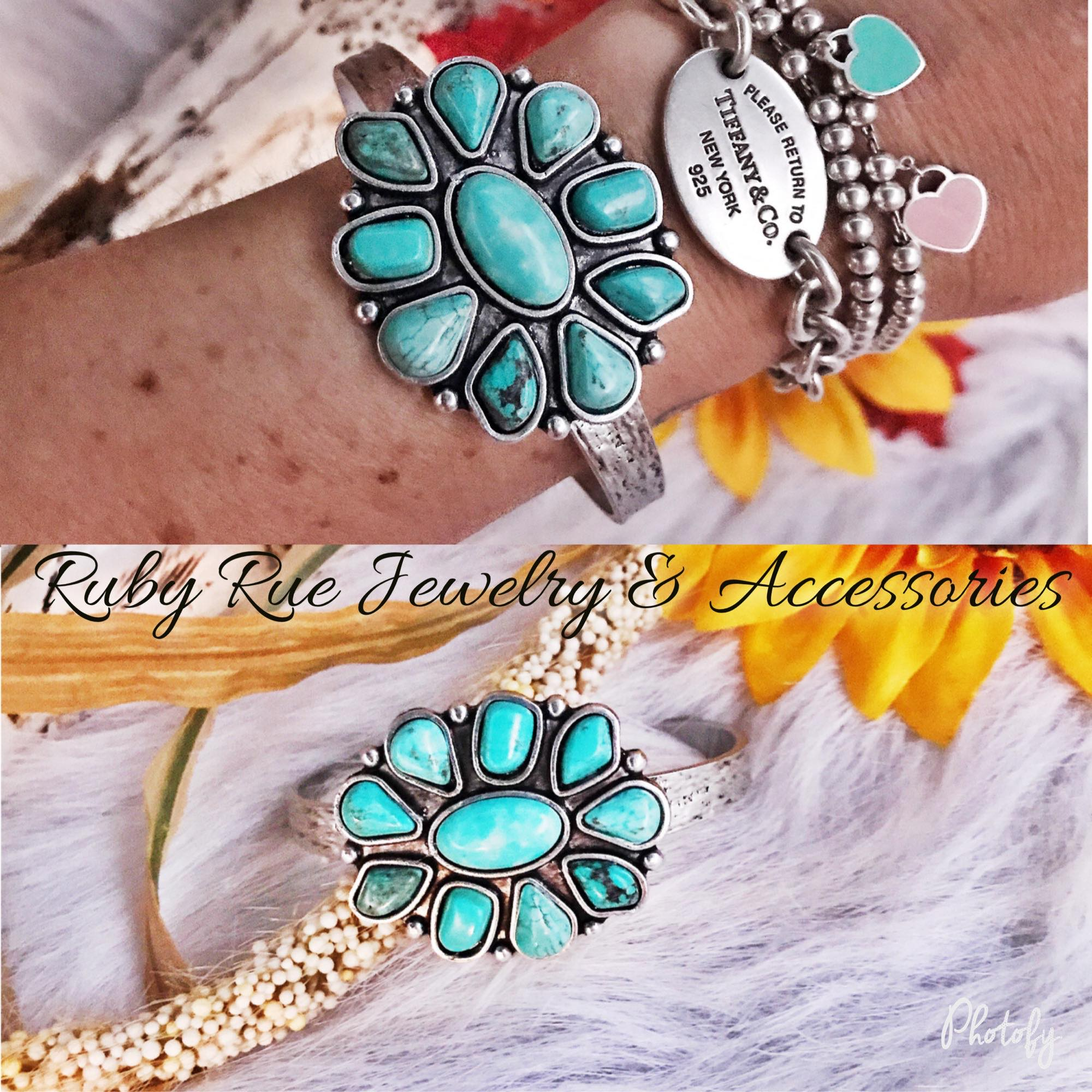 Ruby Rue Turquoise Bracelet - Ruby Rue Jewelry & Accessories