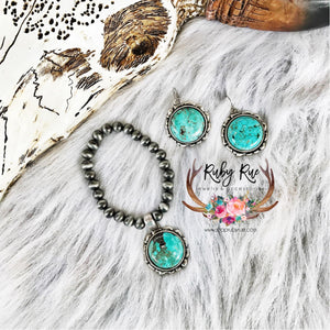 Harper Turquoise Bracelet - Ruby Rue Jewelry & Accessories