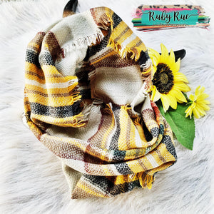 The Pecan Infinity Scarf - Ruby Rue Jewelry & Accessories