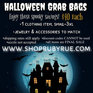Spooky Halloween Mystery Grab Bags - Ruby Rue Jewelry & Accessories