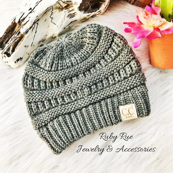 Kids CC Beanies - Ruby Rue Jewelry & Accessories