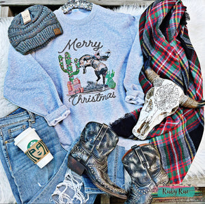 Merry Buckin' Christmas Sweatshirt