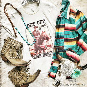 Get Off Your High Horse Tee - Ruby Rue Jewelry & Accessories