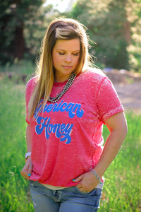 American Honey Tee - Ruby Rue Jewelry & Accessories